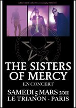 The Sisters Of Mercy |   Trianon | Paris 2011